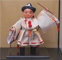 五月人形 牛若丸-min