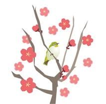 梅とうぐいす-min