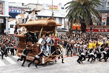 岸和田だんじり祭り-min