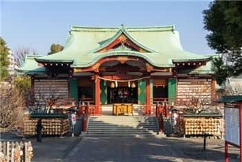 亀戸天神社-min