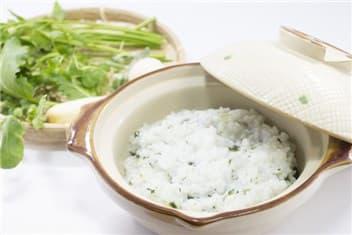 七草粥と七草-min